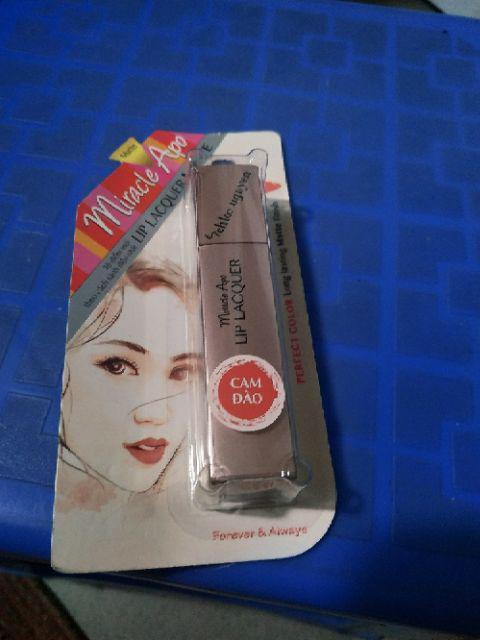 Đánh giá sản phẩm ✅ (CHÍNH HÃNG) Son kem lì Miracle Apo Lip Lacquer Matte Holiday Collection 3ml (bao bì mới) của boa163