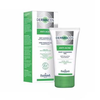 [CHÍNH HÃNG] Sữa Rửa Mặt Farmona Dermacos Anti Acne Deep Cleansing Gel 150ml, Sạch Sâu Ngừa Mụn, Cho Da Dầu thumbnail