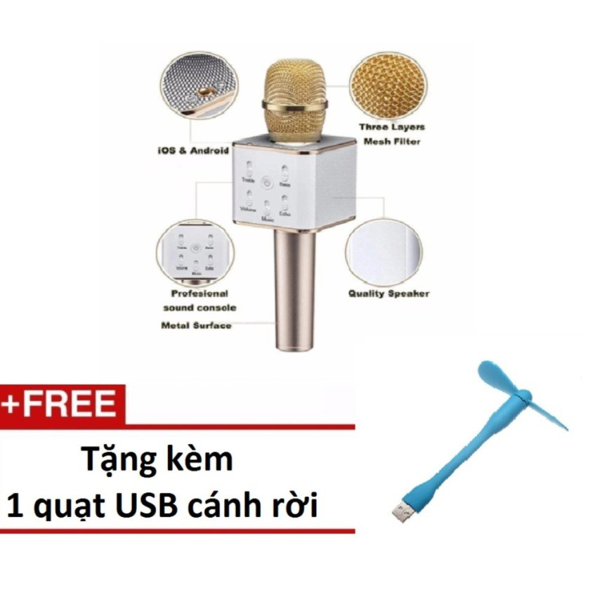 Micro hát Karaoke Q9 kèm Loa Bluetooth 3 trong 1 (Vàng) tặng quạtusb cánh rời - 10074186 , 318255716 , 322_318255716 , 219000 , Micro-hat-Karaoke-Q9-kem-Loa-Bluetooth-3-trong-1-Vang-tang-quatusb-canh-roi-322_318255716 , shopee.vn , Micro hát Karaoke Q9 kèm Loa Bluetooth 3 trong 1 (Vàng) tặng quạtusb cánh rời