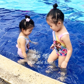 Áo bơi HM bé gái 2-6 tuổi