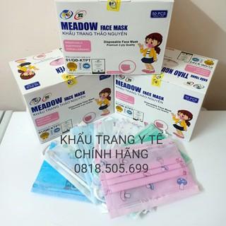 (Hàng chính hãng) Khẩu trang y tế trẻ em Thảo Nguyên thumbnail
