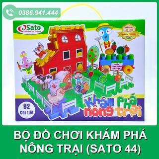 { SIÊU SALE } FREESHIP Đơn 99K_ Bộ đồ chơi khám phá nông trại SATO 44