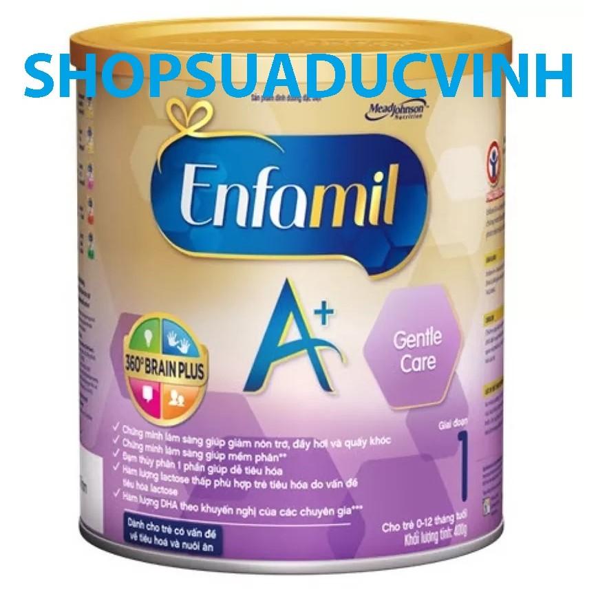 Sữa bột Enfamil A+1 Gentle Care 360 BrainPlus 400g (0-12 tháng) - 2539085 , 58578949 , 322_58578949 , 305000 , Sua-bot-Enfamil-A1-Gentle-Care-360-BrainPlus-400g-0-12-thang-322_58578949 , shopee.vn , Sữa bột Enfamil A+1 Gentle Care 360 BrainPlus 400g (0-12 tháng)