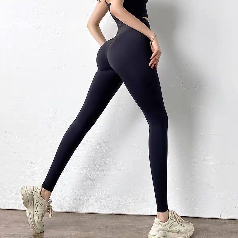 Mặc gì đẹp: Thoáng mát với Quần legging Lulu tập gym yoga ❤️𝐇𝐀̀𝐍𝐆 𝐗𝐈̣𝐍❤️ Thun Poly Siêu Co Giãn Gen Bụng Nâng Mông Thể Thao Nữ 𝐆𝐘𝐌𝐒𝐓𝐎𝐑𝐄 919