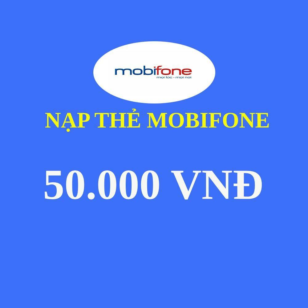 Thẻ nạp Mobi 50000