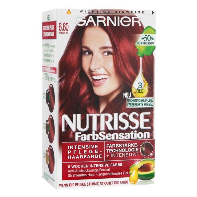 Thuốc nhuộm tóc Garnier Nutrisse Cream
