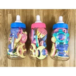 Bộ đồ chơi nhiều chi tiết hình bình sữa cho trẻ sơ sinh