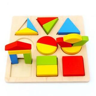 Đồ chơi gỗ bảng phân chia phân số