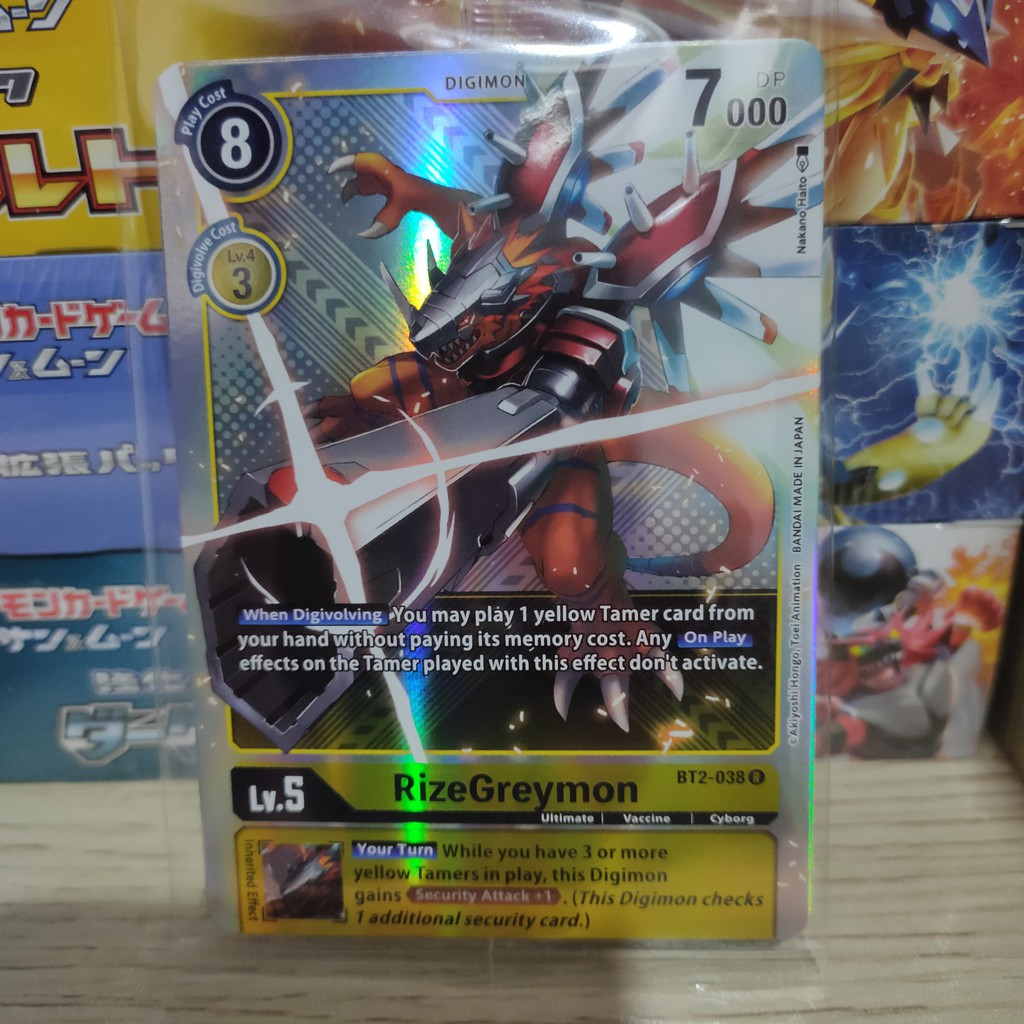 Thẻ bài lẻ Digimon tiếng Anh loại hiếm chính hãng Bandai (cập nhật liên tục)