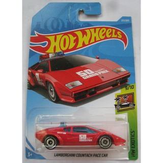 Xe mô hình Hot Wheels Lam.borghini Countach Pace Car FJV79