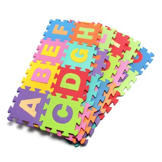 Thảm xốp chữ cái 26 miếng A_Z 30*30 dày 1cm