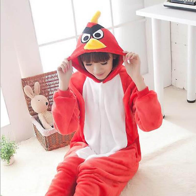 Bird Kigurumi Adult Women  Pajama Animal Anime Cosplay Party Performance Halloween  Pijama