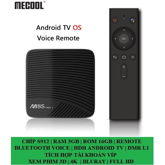 [Kèm chuột ko dây] Mecool M8S PRO L | Remote tìm kiếm giọng nói | Chip S912 | Ram 3gb | ram 16gb - 10006485 , 989184342 , 322_989184342 , 1700000 , Kem-chuot-ko-day-Mecool-M8S-PRO-L-Remote-tim-kiem-giong-noi-Chip-S912-Ram-3gb-ram-16gb-322_989184342 , shopee.vn , [Kèm chuột ko dây] Mecool M8S PRO L | Remote tìm kiếm giọng nói | Chip S912 | Ram 3gb