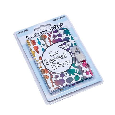"""Sổ nhật ký có khoá """"My Diaries"""" w/ Kim cương Tím - SD0004 (Avocado)"""