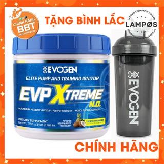 Thực phẩm bổ sung EVP Extreme, Pre-Workout tăng năng lượng, pump cơ tối đa (40 lần dùng)