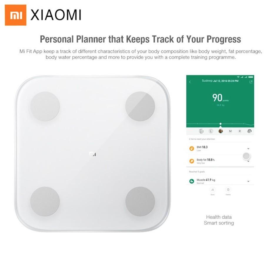 Cân Điện Tử Thông Minh Xiaomi Body Fat Gen 2 - ver 2019