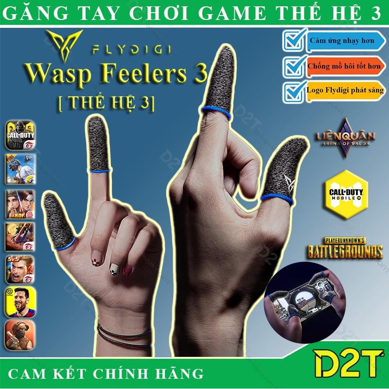 Flydigi Wasp Feelers 3 | Găng tay chơi game PUBG, Liên quân, chống mồ hôi, cực n