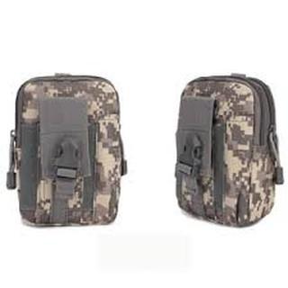 Túi đeo hông | Túi đeo thắt lưng nam, màu đen, màu rằn ri