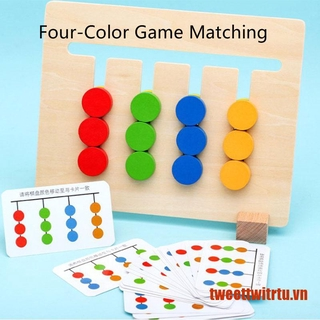【TrTu】Colors and Fruits Double Sided Matching Game Logical Reasoning Training