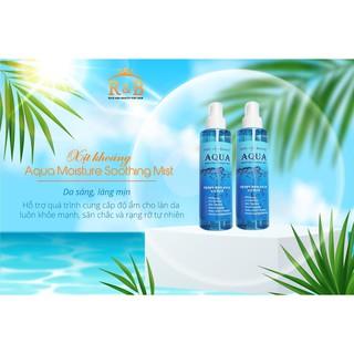 [HÀNG CHÍNH HÃNG] Xịt Khoáng Daily Beauty Aqua Moisture Soothing Mist R&B Việt Nam thumbnail