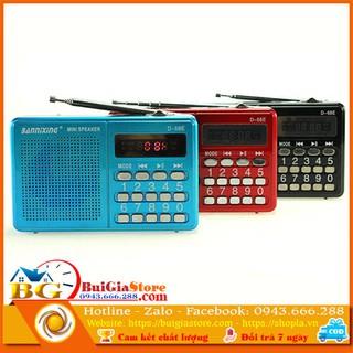 Máy nghe nhạc Thẻ Nhớ, Usb, đài FM Bannixing D-68E thumbnail