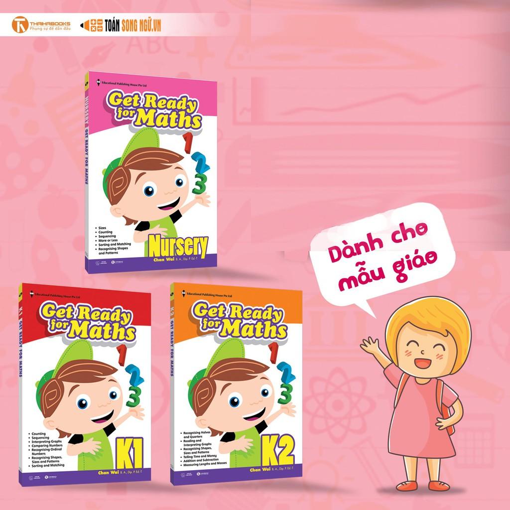 Sách Bộ sách giáo khoa toán Singapore dành cho mẫu giáo