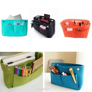 Women MultiPocket Handbag Portable Easy Storage Durable Organizer Bag