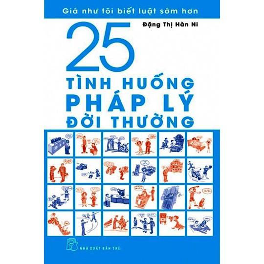 Sách: 25 tình huống pháp lý đời thường
