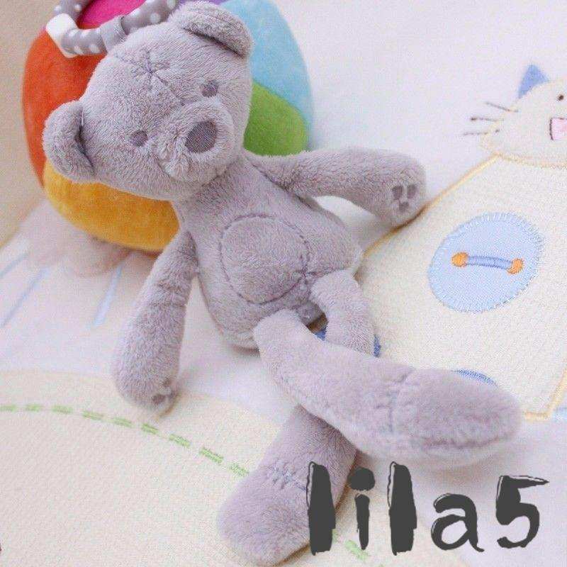 ღ☭New Cute Bunny Soft Plush Toys Bear Stuffed Animal Baby toys Kids Gift