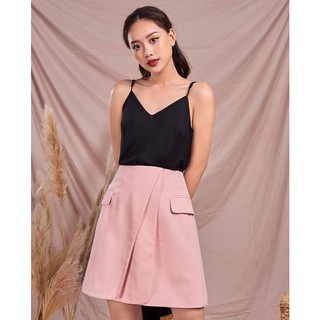 Chân váy hồng vạt chéo Elise thumbnail