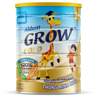 Sữa bột Abbott Grow Gold 3+ 1,7kg (3 - 6 tuổi) thumbnail