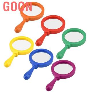 Goon Handheld Magnifier Kids Toy Magnifying Glass with Stand Child Science ExplorerToy