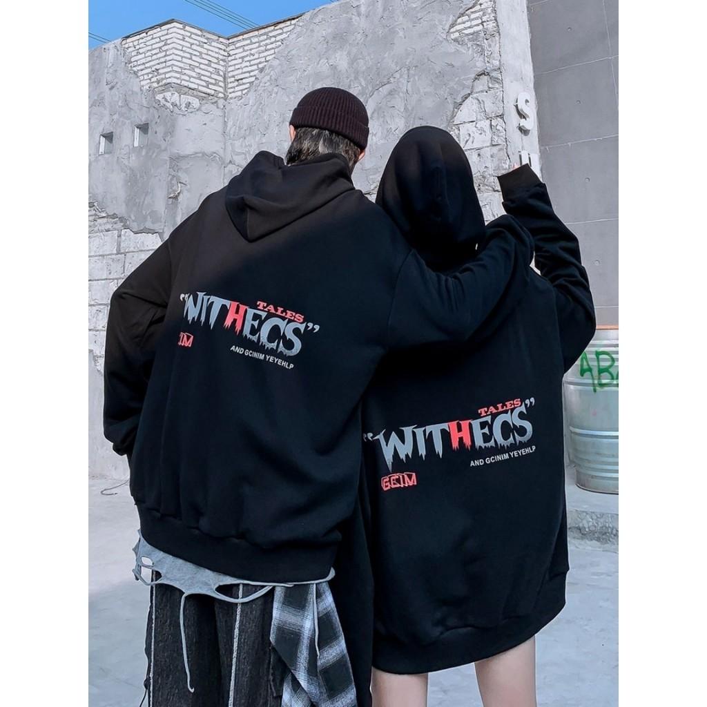 Áo khoác nỉ Hoodie, unisex cho nam và nữ, in hình phù thuỷ Withecs đầy bí ẩn, chất nỉ cao cấp KN16