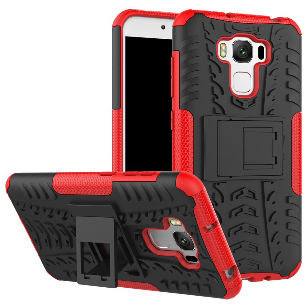 Case for ASUS Zenfone 3 Max ZC553KL Texture Bracket hard phone shell
