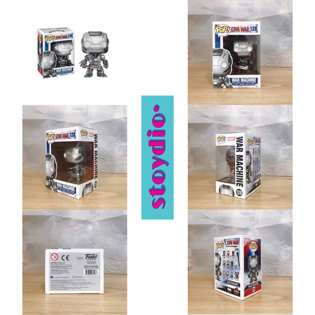 Mô Hình Funko POP! WAR MACHINE – Civil War