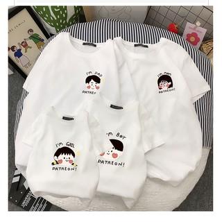 Áo gia đình Familylove - Đồng phục gia đình chất liệu cotton 100% siêu mềm mịn họa tiết chibi Patreon đáng yêu thumbnail