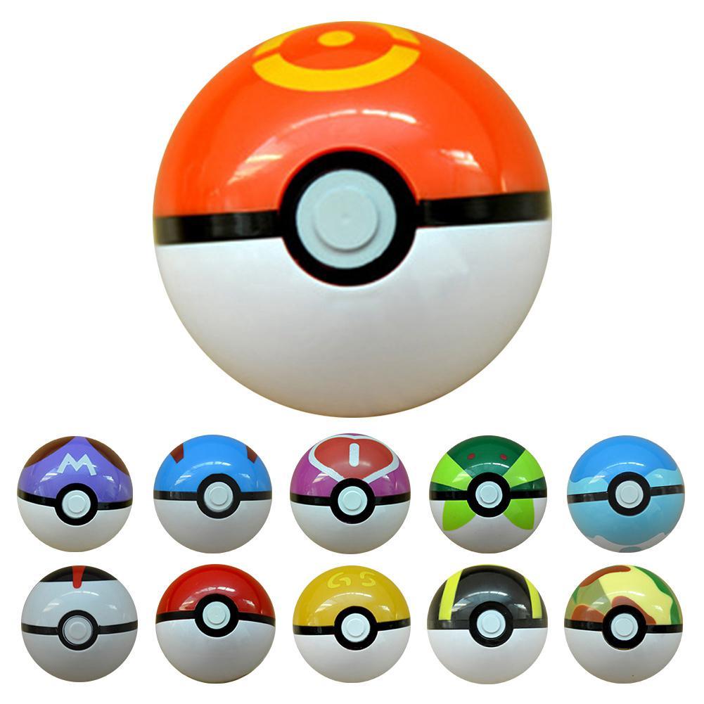 7cm Pikachu Pokemon Cosplay Poke Ball Pop-Up KidsToy