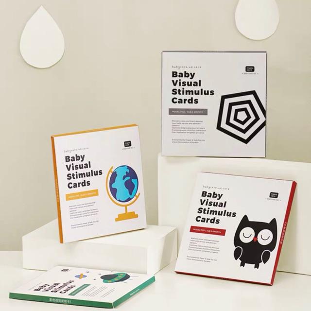 Bộ thẻ học kích thích thị giác Babycare Us cho bé từ 0-36m
