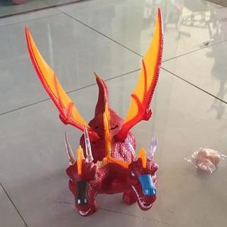 Hộp Đồ Chơi Khủng Long Rồng Dinosaur Có Cánh 2 Đầu Đẻ Trứng