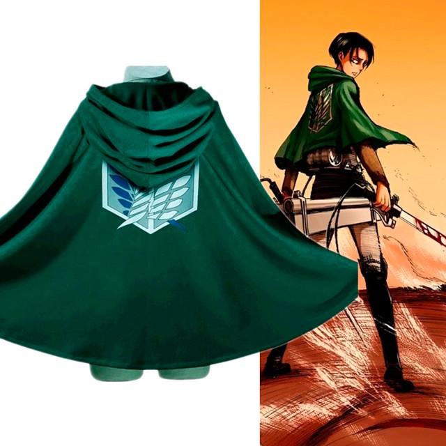 Áo choàng cosplay đội trinh sát - anime Attack on Titan