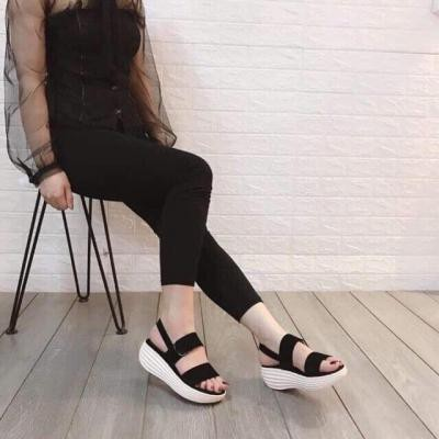 Giày sadal học sinh thái lan  2 quai nhung hàng 4-6p -SD-0256