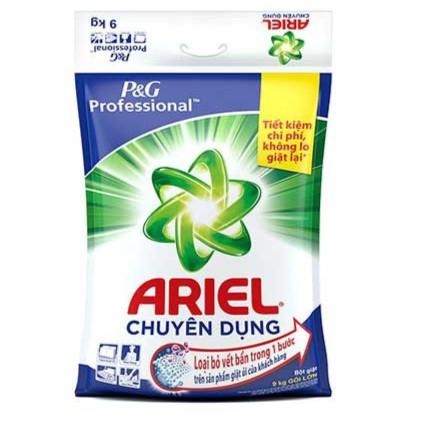 Bột giặt Ariel chuyên dụng 9kg