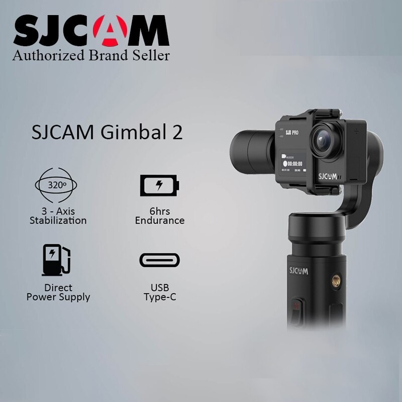 Tay cầm chống rung GIMBAL 2 dành cho camera hành trình SJCAM - Hãng phân phối