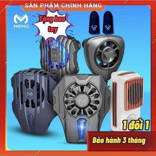Quạt tản nhiệt [Siêu Lạnh] - Tản nhiệt điện thoại gaming MEMO - Có sò lạnh công nghệ bán dẫn DL01 - FL01 thumbnail