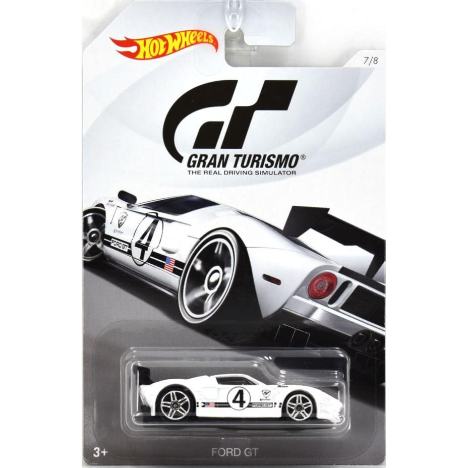 Xe mô hình Hot Wheels Gran Turismo Ford GT LM FKF33