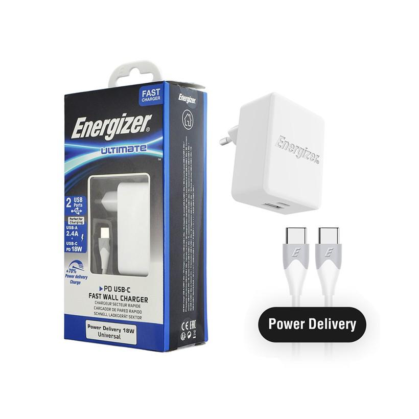 Sạc Energizer PD18W 1USB-C/1USB, kèm cáp USB-C2 AC11PFEUUCC3 - 3465672 , 1187090314 , 322_1187090314 , 600000 , Sac-Energizer-PD18W-1USB-C-1USB-kem-cap-USB-C2-AC11PFEUUCC3-322_1187090314 , shopee.vn , Sạc Energizer PD18W 1USB-C/1USB, kèm cáp USB-C2 AC11PFEUUCC3