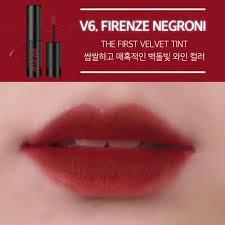 Son kem lì Merzy Velvet Tint V1,V4,V6