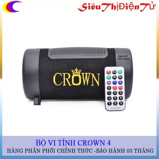 LOA CROWN 4 CHẠY USB THẺ NHỚ FT TRÒN