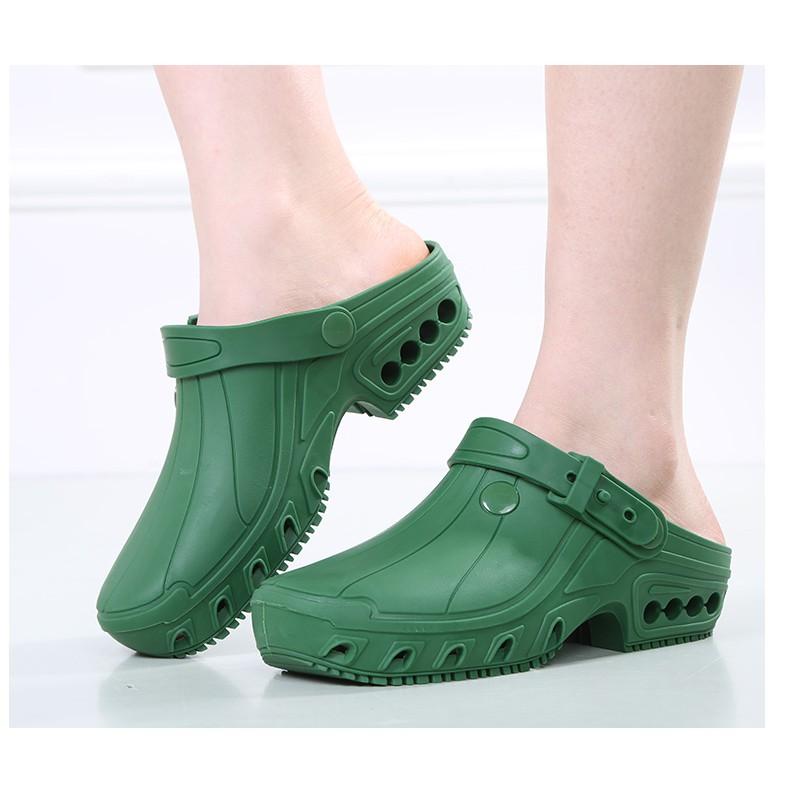 Dép y tá- dép đi trong bệnh viện- giày dép y tế chịu được nhiệt độ cao- dép y tế có quai điều chỉnh- giày dép phẫu thuật
