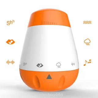 Sleep Soother Infants Music Portable Rechargeable Smart Therapy Sound Machine White Noise